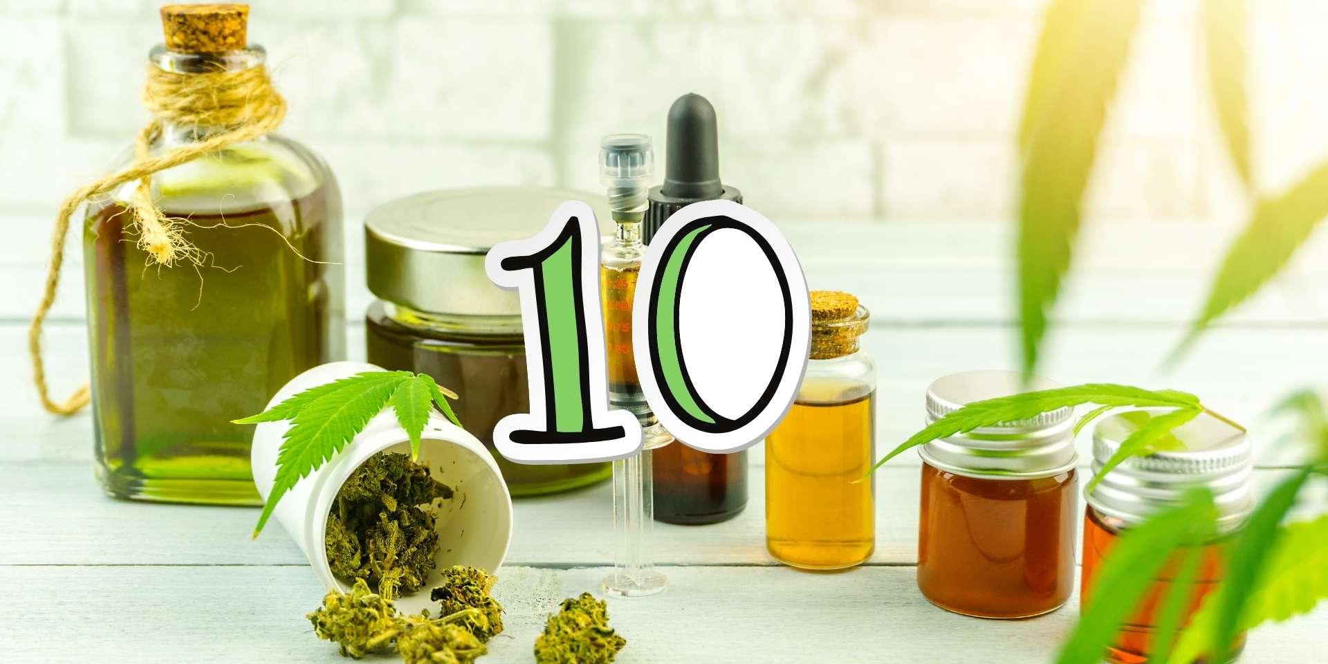 10 bonnes raisons d'utiliser l'huile de CBD