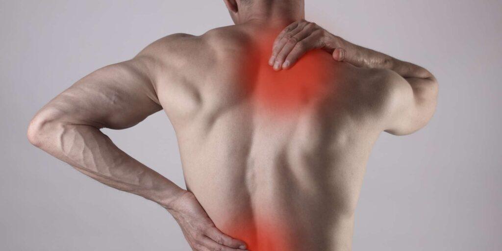 inflammation au dos